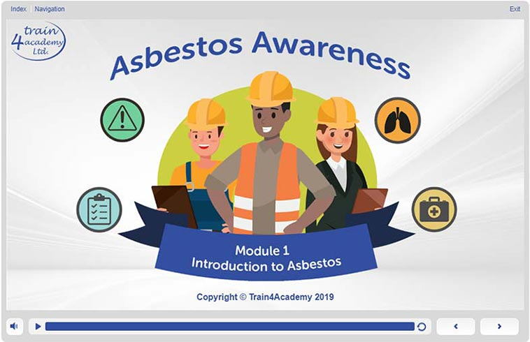 Screenshot 1 – 1.1 Asbestos Awareness Course