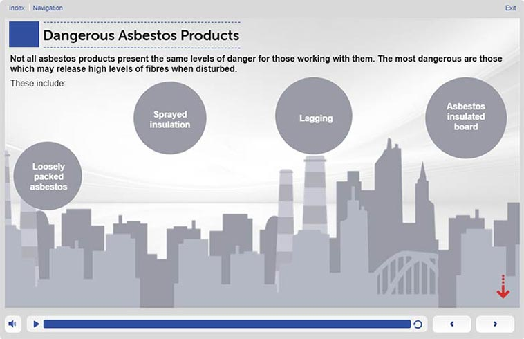 Screenshot 1 – 1.9 Asbestos Awareness Cours