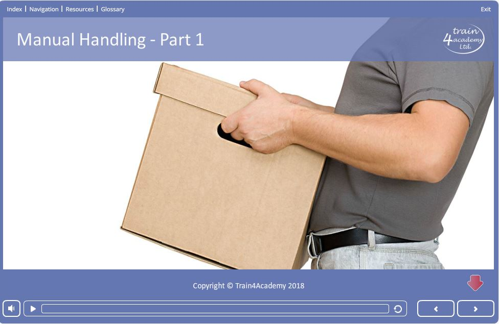 Part 1 of our Manual Handling Training course