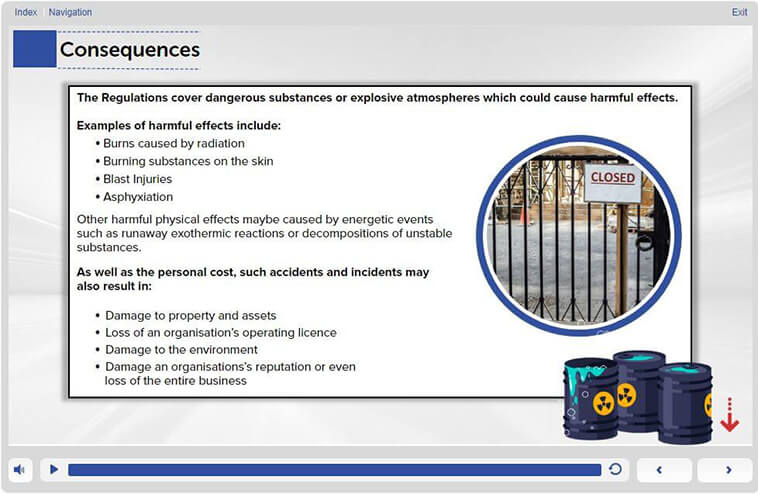 Consequences – Slide 3 – Level 1 - Awareness Training in DSEAR