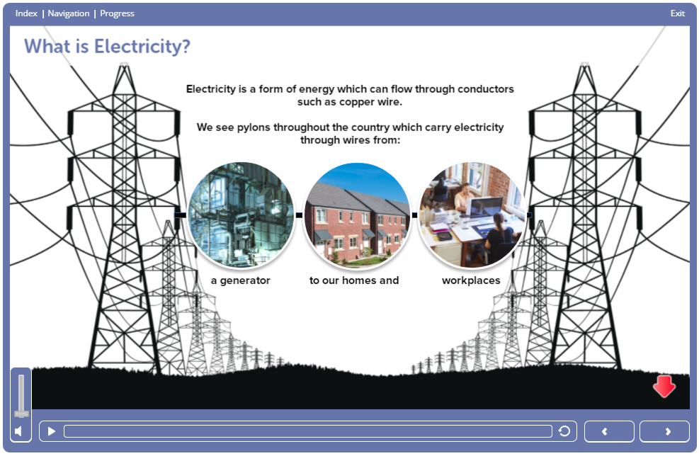 Screenshot 1.12 - Electrical Safety Course Online