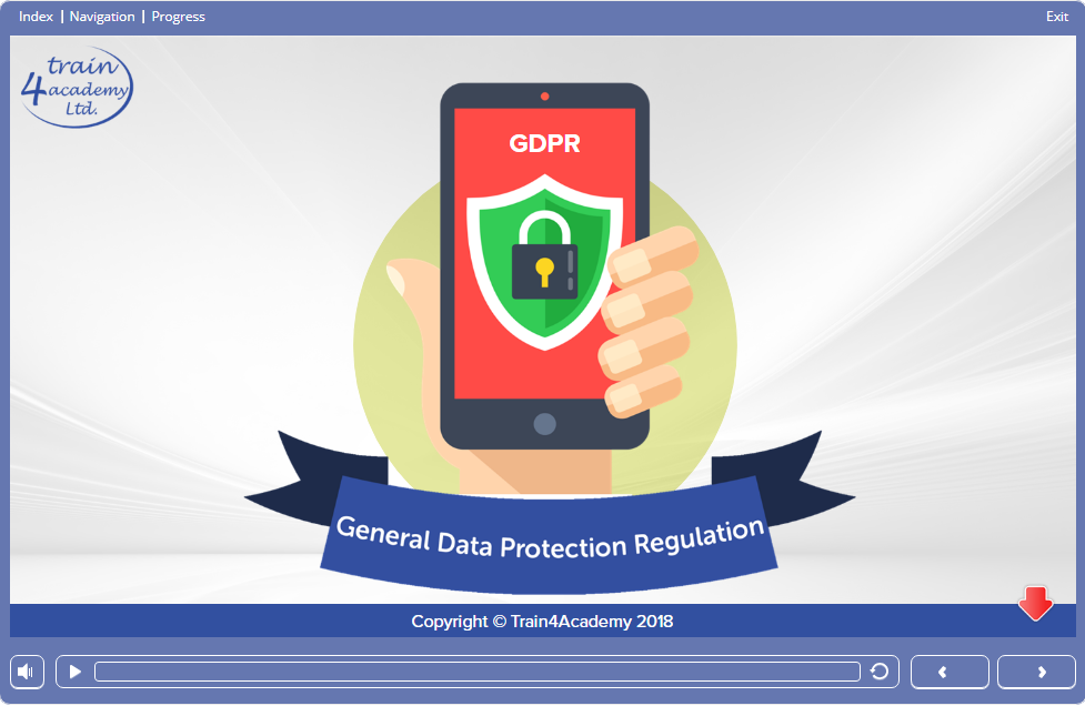 Course Slide 1 - GDPR Training Course Online