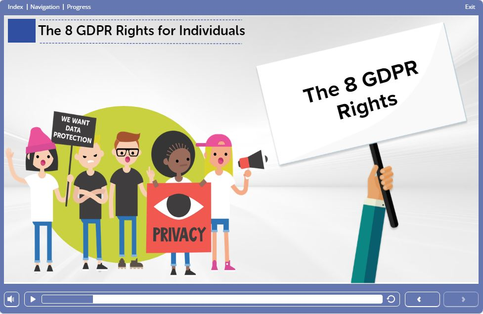 Course Slide 3 - GDPR Training Course Online