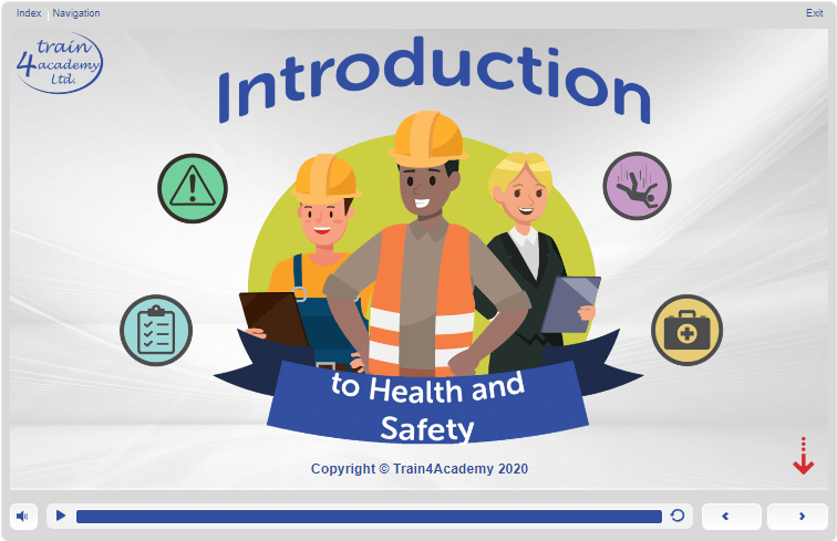 Screenshot - Health and Safety Introduction