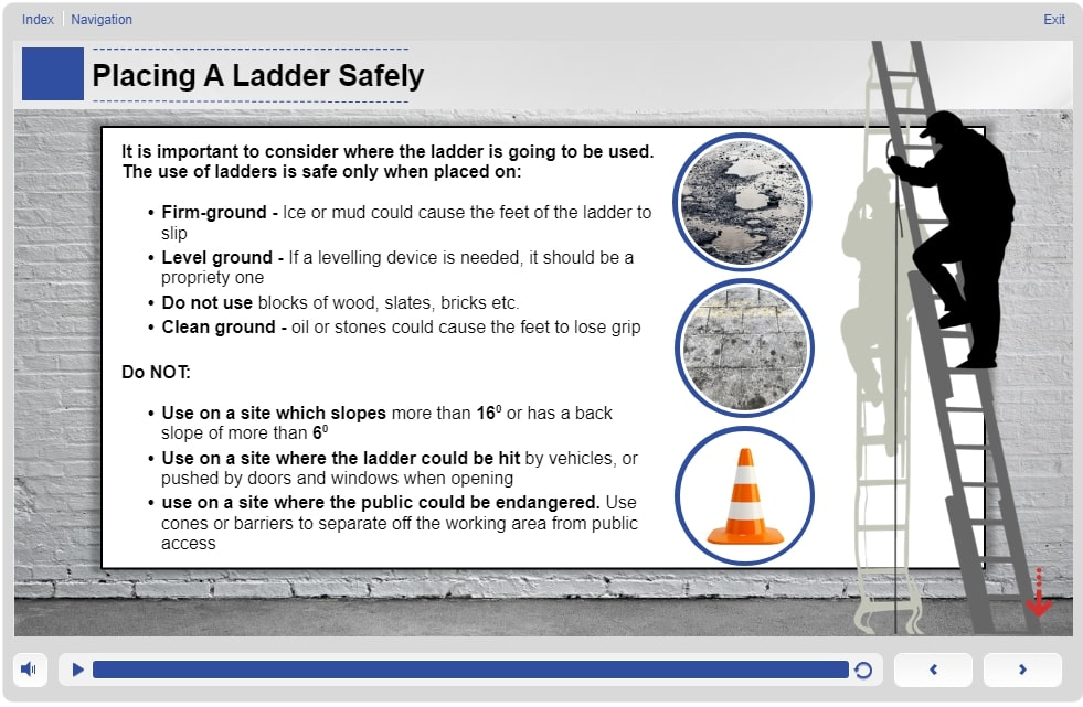 Ladder and Stepladder Safety Training - Introduction