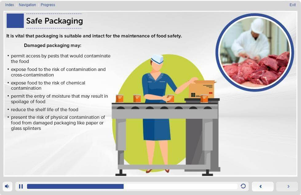 Food Safety Level 2 Training in Manufacturing - Safe Packaging
