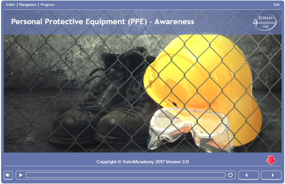 Screen  - Personal Protective Equipment