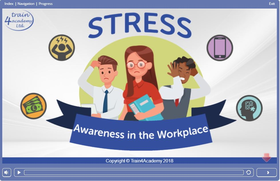 Screen 1 – Stress Awareness in the Workplace