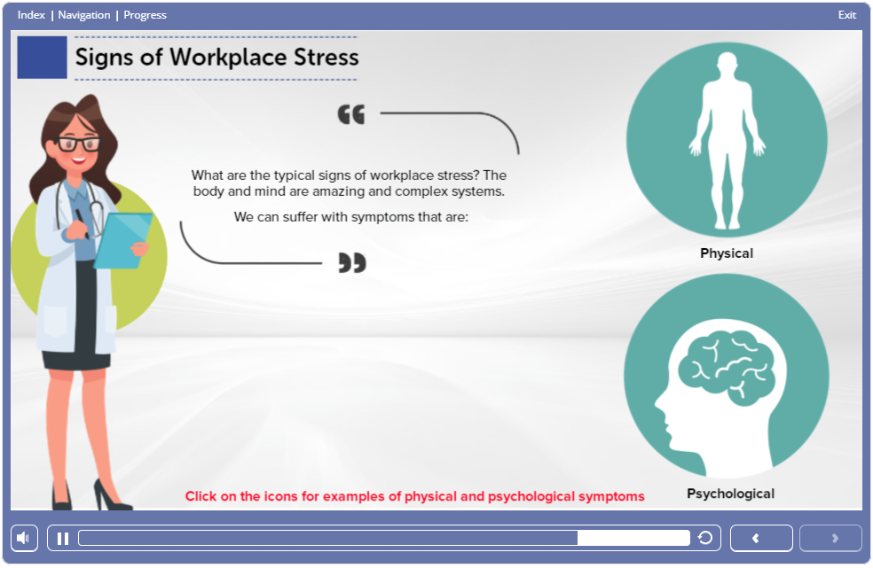 Screen 2 – 1.9 – Stress Awareness in the Workplace